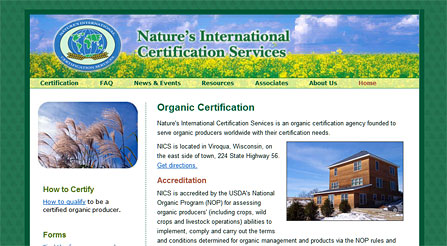 Nature's International Certification Services